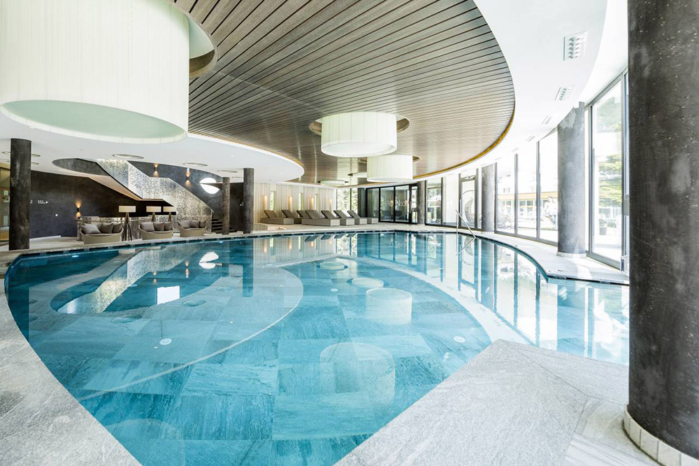 Indoor Pool Hotel Prokulus